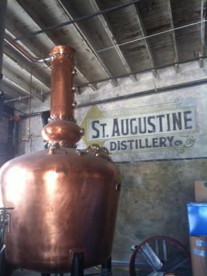 St. Augustine Distillery stills.