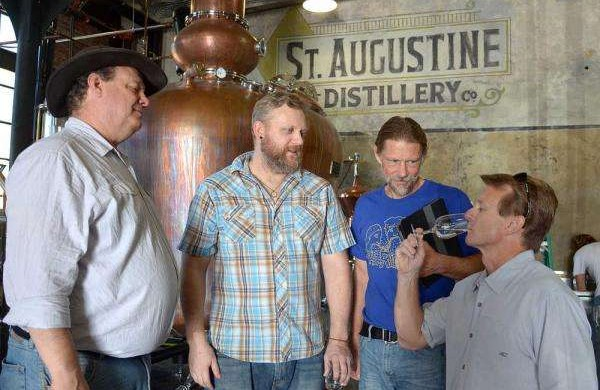 Distilling Team and Executives at St Augustine Distillery