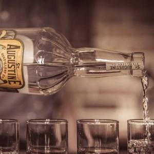 Bottle of Sugar Cane Vodka from St. Augustine Distillery